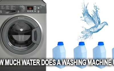 how much water does a washing machine use